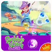 Tips Bubble Witch 3 Saga free