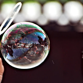 Bubble on route by Don Mann - Artistic Objects Other Objects