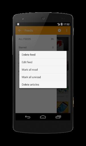 Lite RSS Pro - screenshot