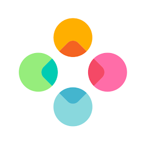 Fleksy - Chat with gifs/stickers, web search & fun Icon