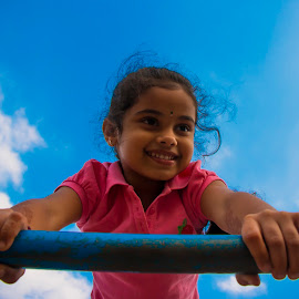In to the sky by Charan Vicky - Babies & Children Children Candids