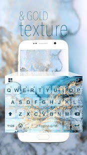 Texture Emoji iKeyboard Theme - screenshot