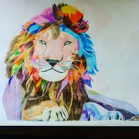 Lion drawing by Reagan Muriuki - Drawing All Drawing