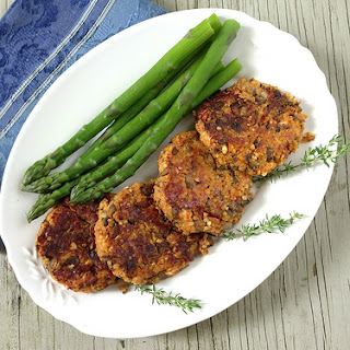 Sweet Potato & Peanut Quinoa Cakes