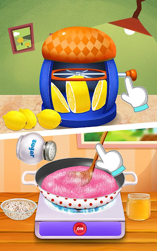 Gum Ball Candy: Kids Food Game - screenshot
