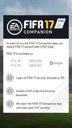 FIFA 17 Companion Android App Screenshot