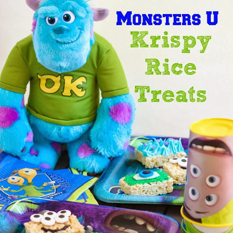 Monsters U Krispy Rice Treats