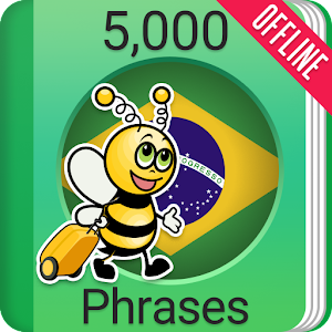 Learn Brazilian Portuguese Phrasebook-5000 Phrases