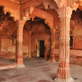 Indian Fortress by Vijay Govender - Buildings & Architecture Architectural Detail ( fortress, arches, india, architecture )