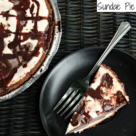 Homemade Hershey Sundae Pie