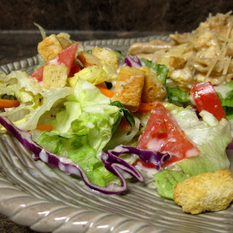 Homemade Olive Garden Salad and Dressing