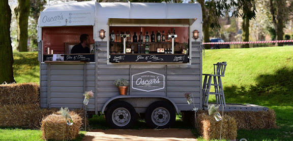 Mobile horse box bar