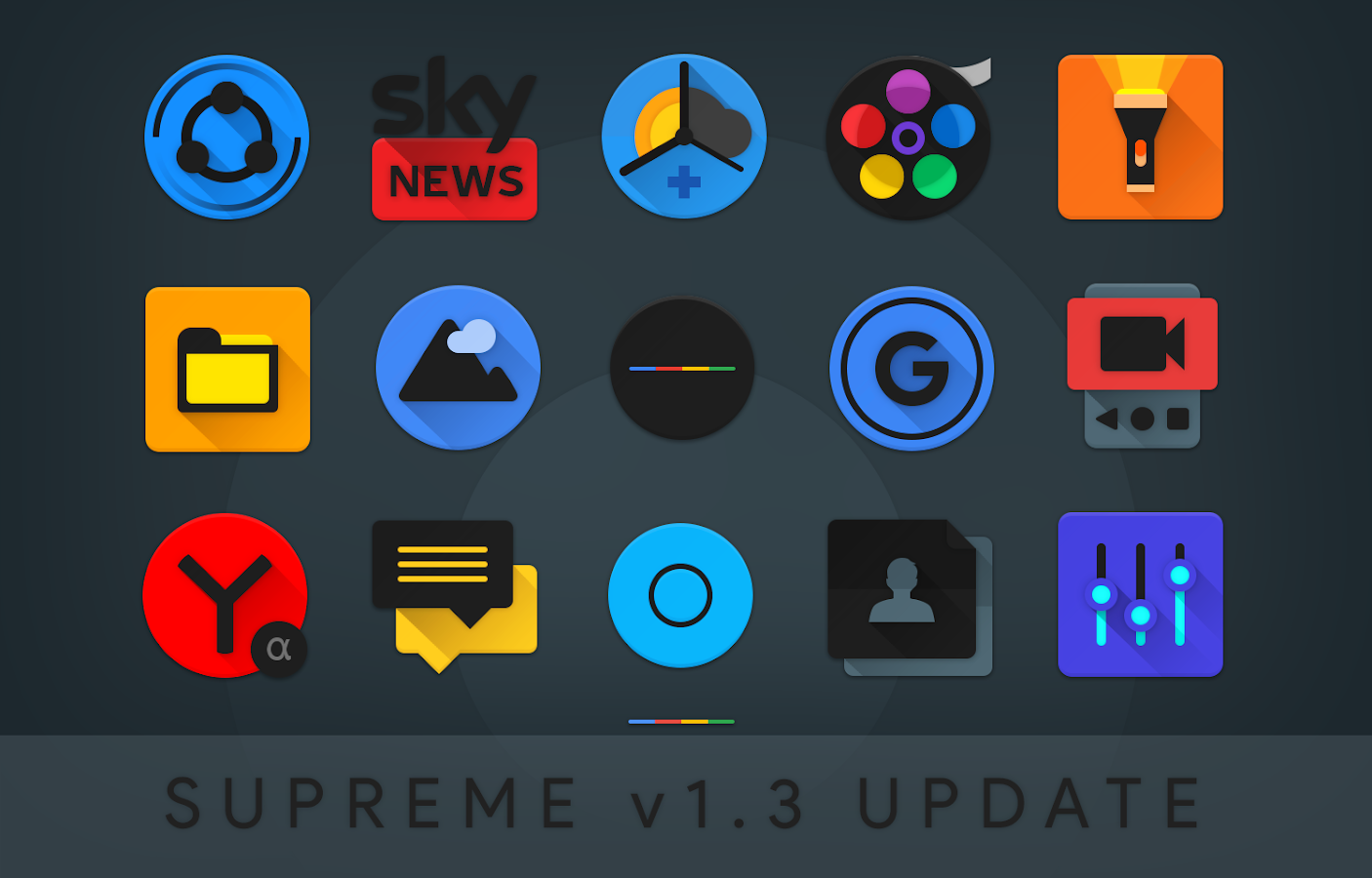 Supreme Icon Pack Screenshot 19