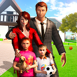 Virtual Mom : Happy Family Games Icon