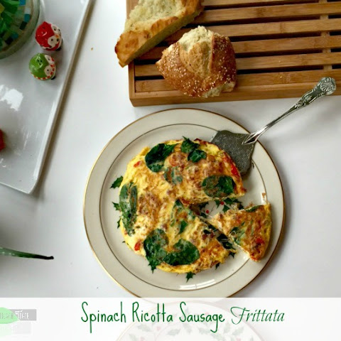 Spinach And Ricotta Cheese Frittata Recipes | Yummly