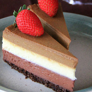 Triple Layer Cheesecake
