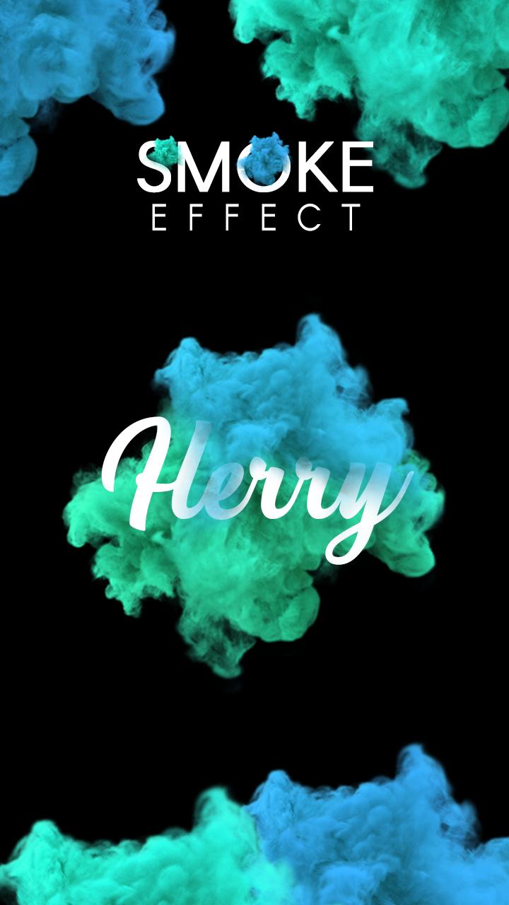 Name Art Smoke Effect Screenshot 0