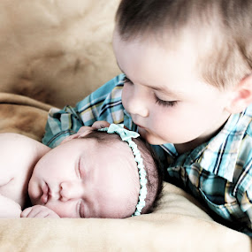 brothers love by Debra Lynde - Babies & Children Babies ( baby sleeping, toddler,  )