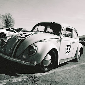 Herbie by Kavori Huffman - Transportation Automobiles ( film, car, vw, 35mm, love bug, beetle, herbie, volkswagen )