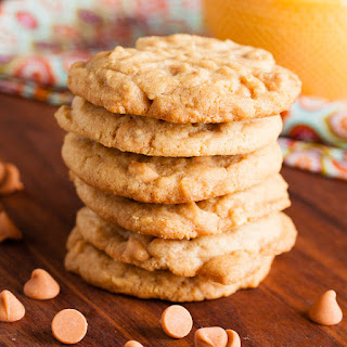 Peanut Butter Butterscotch Chip Cookies