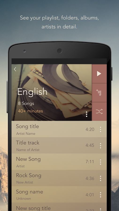 Solo Music Player Pro Screenshot 6
