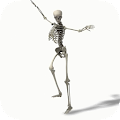 Free Dancing Skeleton Video LWP APK for Windows 8