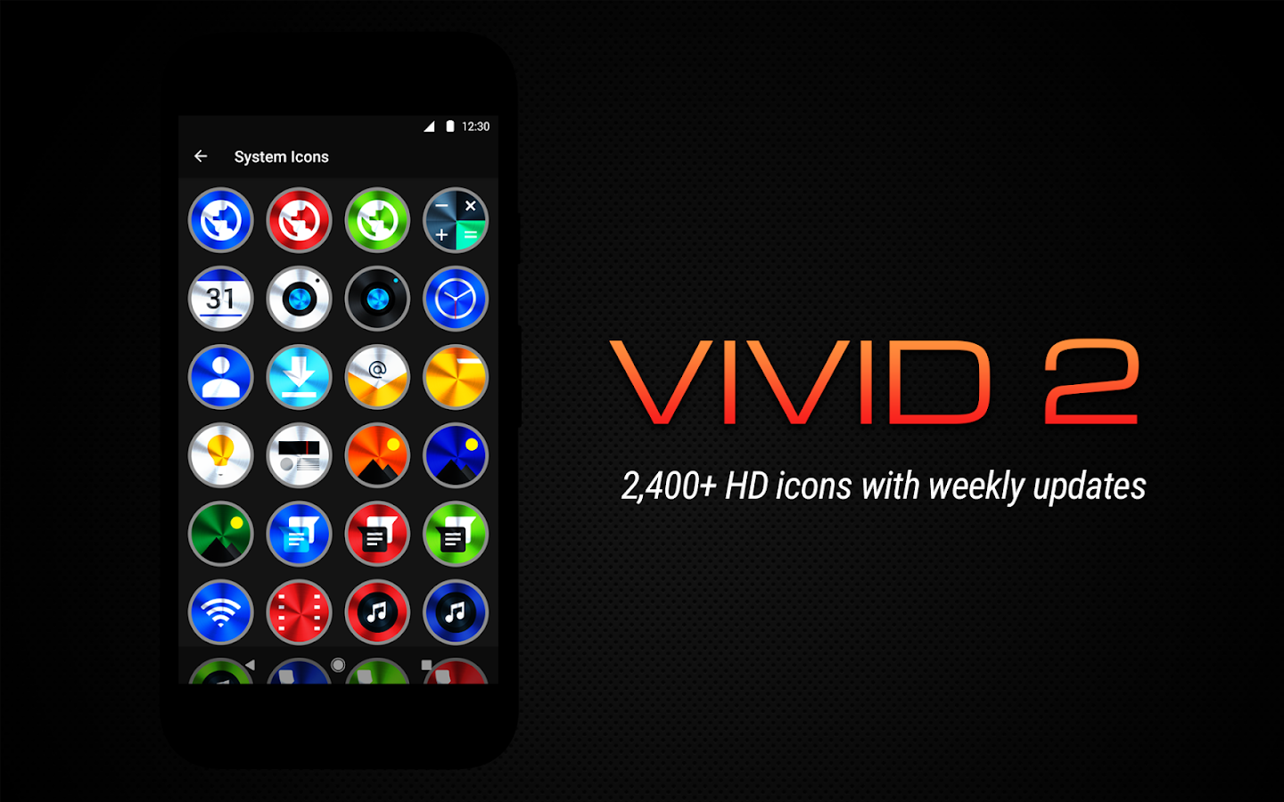 Vivid 2 Icon Pack Screenshot 7