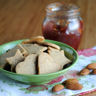 Nutty Gluten-free Crackers