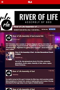 River of Life Assembly of God - screenshot