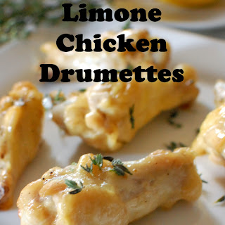 Baked Chicken Drumettes Recipes