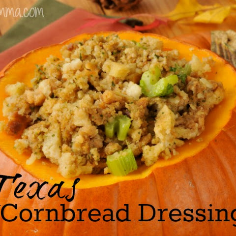 Texas Cornbread Dressing