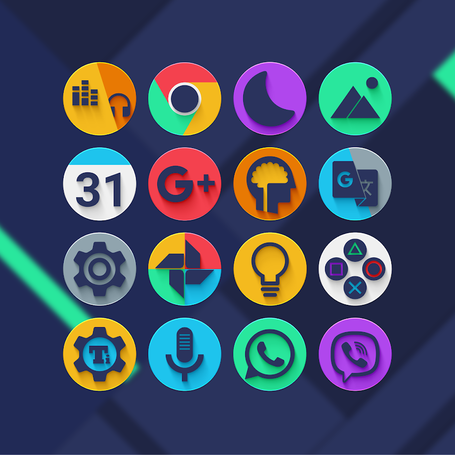 Almug - Icon Pack Screenshot 0