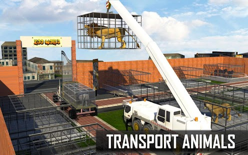 Descargar City Zoo Animals Rescue Truck 1.2 APK