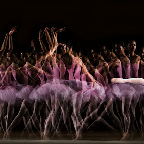 Shadow Ballet by Pimpin Nagawan - People Fine Art ( human )