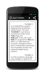 TechWall-E Pro - screenshot