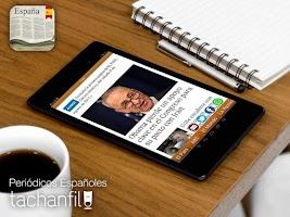 Screenshot of Spain Newspapers