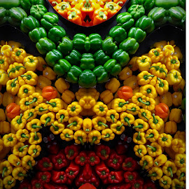 Colorful Peppers by Lope Piamonte Jr - Food & Drink Fruits & Vegetables