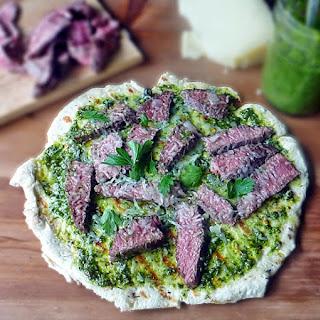 Grilled Steak Flatbreads Recipes