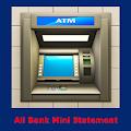 All bank mini statement