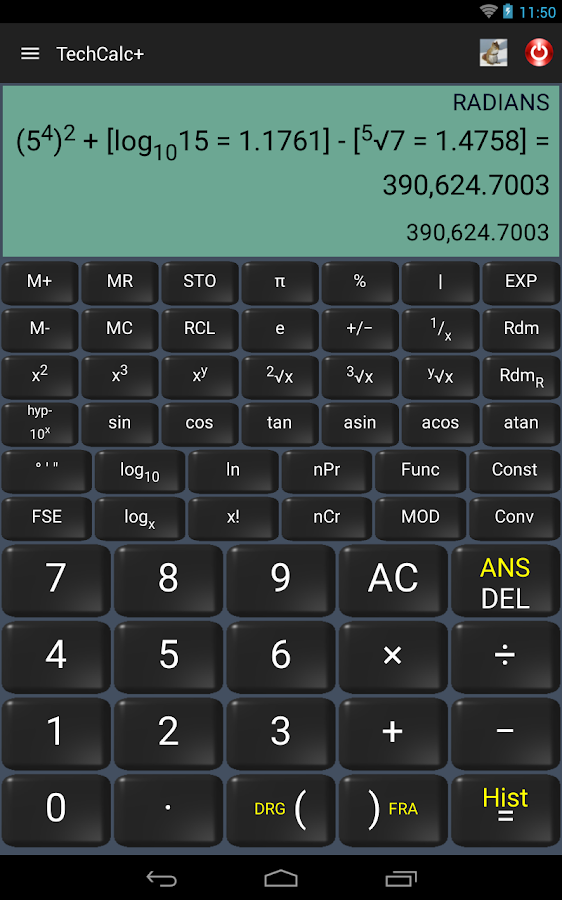 Scientific Calculator (adfree) Screenshot 9