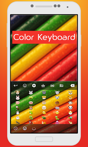 android Color Keyboard For Kids Screenshot 1