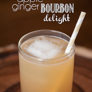 Apple Ginger Bourbon Delight