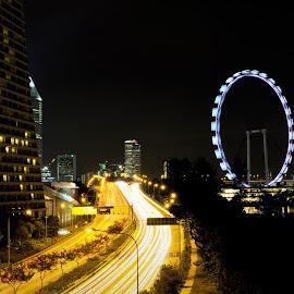 Street Lights by Lye Danny - City,  Street & Park  Street Scenes
