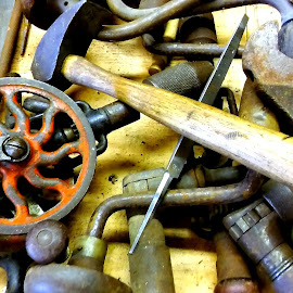 Grandpas toolbox by Martin Stepalavich - Artistic Objects Industrial Objects