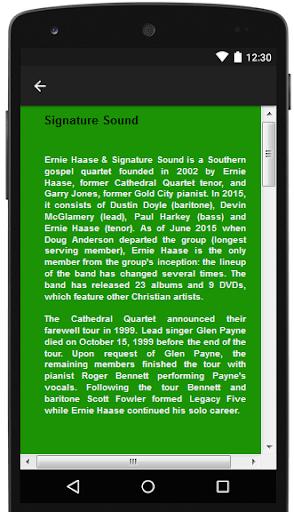 Signature Sound Songs & Lyrics.