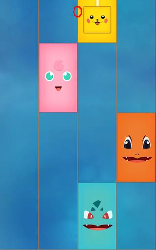 Piano tap Pikachu: ocean tiles For PC