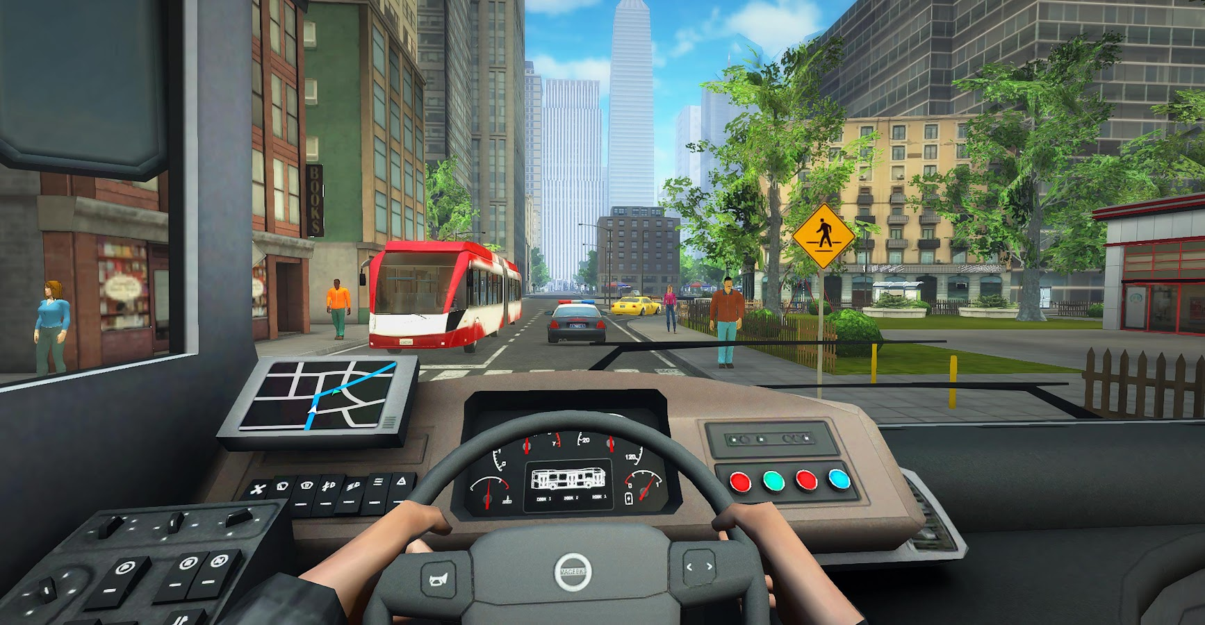 Bus Simulator PRO 2017 Screenshot 2