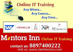 LEARN PENTAHO DI ONLINE TRAINING BY ''MENTORSINN'' FROM HYDERABAD, INDIA.