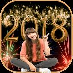 Happy New Year 2018 Photo Frames Icon