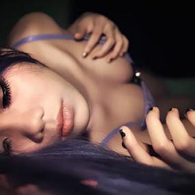 I`m Sleep by Chandra Wirawan - People Portraits of Women
